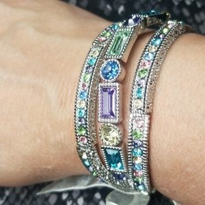 Spring colors stretch bracelets